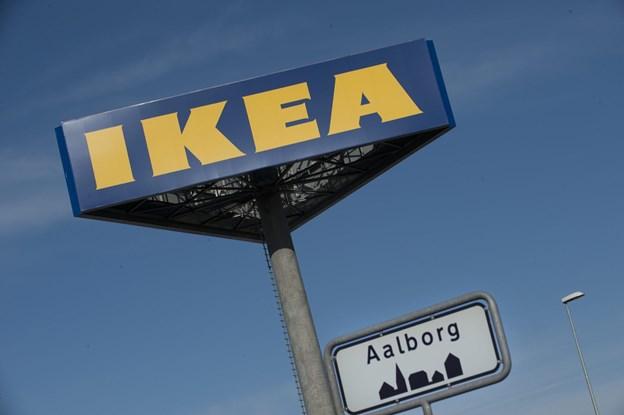 1.6 mio. nordjyder har været en tur forbi IKEA i Aalborg det seneste år. Arkivfoto: Grete Dahl