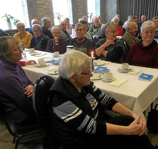 Sønderup Suldrup Seniorer viste stor interesse for at høre nærmere om arv og testamente. Privatfoto