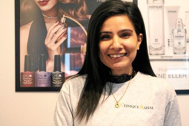 4. januar fylder Sahar 26 år - og samme dag åbner hun egen klinik: Clinique Sahar.
