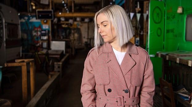 Vibeke Falden er med egne ord musiker med krop og sjæl, og derfor er musikken også omdrejningspunkt for mange af hendes favoritsteder. Foto: Teis Markfoged