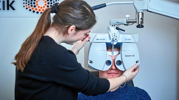Synoptik i Danmarksgade i Frederikshavn er igen blevet certificeret i forhold til synsprøver og kontaktlinseundersøgelser