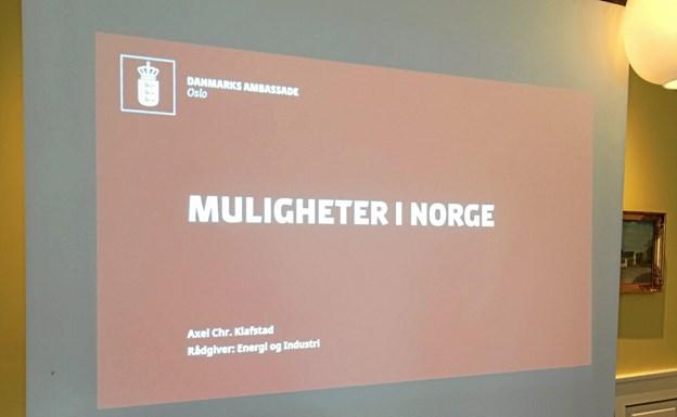 Norge investerer kraftigt i energisektoren i disse år, og det kan skabe arbejdspladser i Frederikshavn og det øvrige Nordjylland. Privatfoto