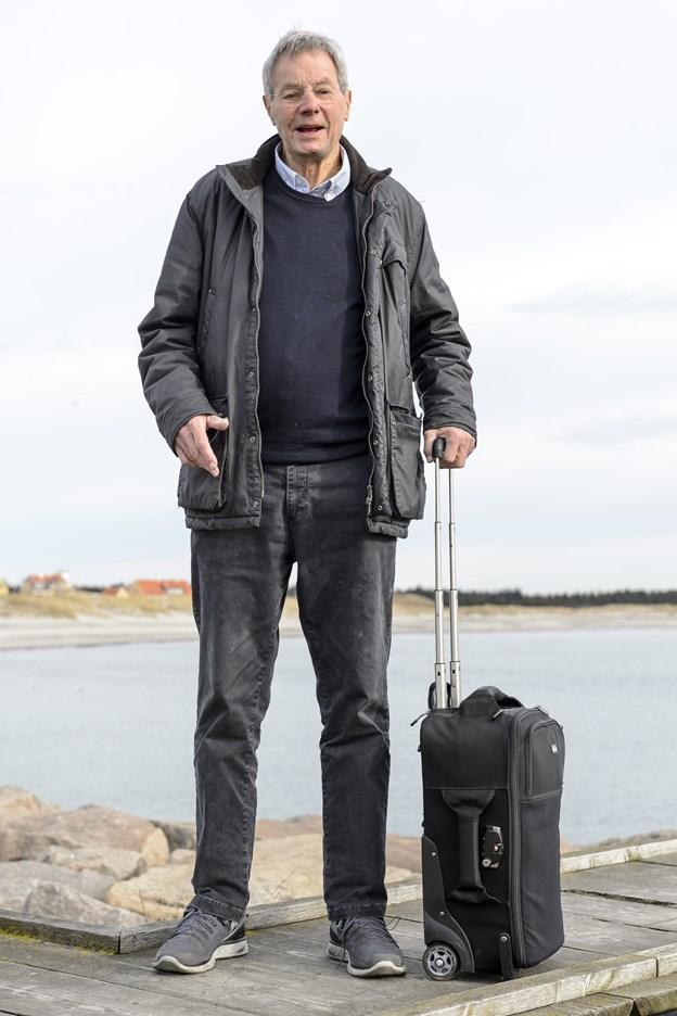 Claus Jacobsen mødte en dansk-amerikaner, da de begge har hus i Skagen, og nu kommer Jacobsens DVD om Skoleskibet Danmark til USA.  Arkivfoto: Peter Broen Peter Broen