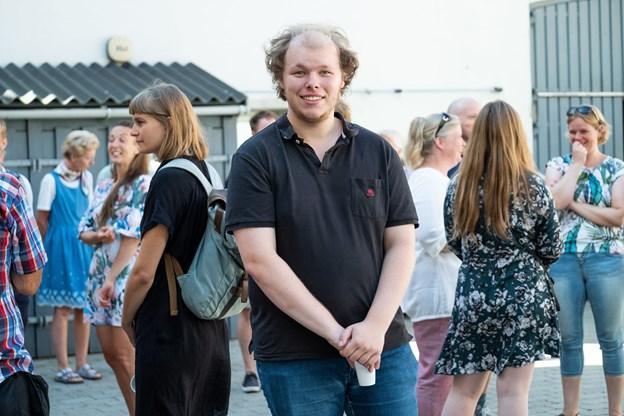 En anden ny medarbejder er Christian Høgh. Han skal arbejde som lydassistent.