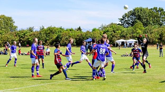 Toca Juniors tabte første kamp i turneringen med 1-0 til Understed I.F. Michael Madsen Octomedia