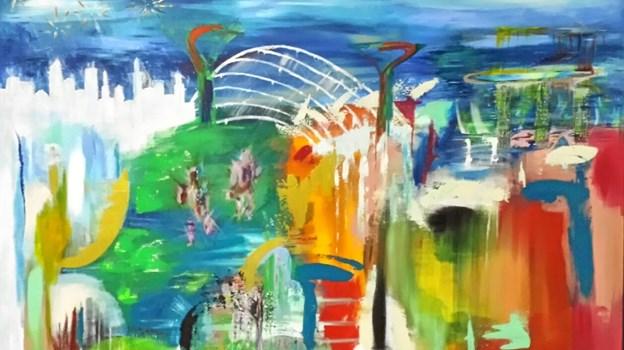 Den abstrakte stil åbner for fortolkninger