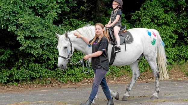 Måstrup Rytterlaug tilbyder ponyridning. Foto: Niels Helver Niels Helver