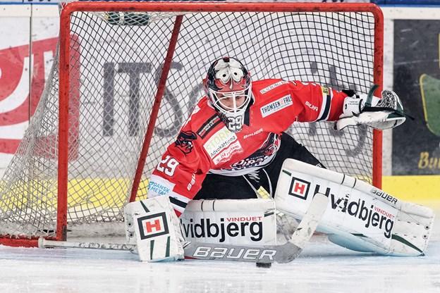 Tadeas Galansky passer høgenes mål de næste sæsoner. Arkivfoto: Torben Hansen