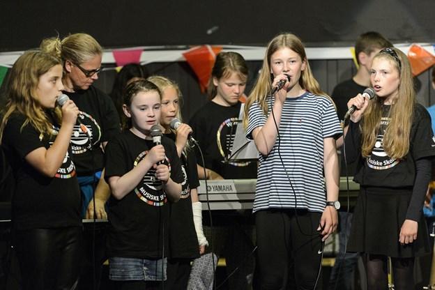 Hjørring Musiske Skole byder inviterer til festival lørdag i Dronningensgade. Dagen begynder med streetparade gennem Hjørring klokken 11. Arkivfoto: Peter Broen