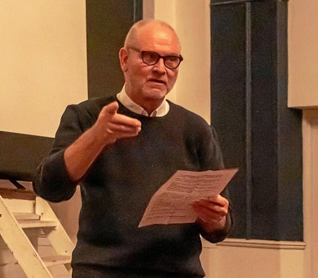 Preben Christensen, mangeårigt byrådsmedlem og formand for filmklubben i 19 år. synes stadig, biografen er det bedste fællesskab at opleve film i. Privatfoto