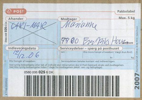 post danmark helligdage