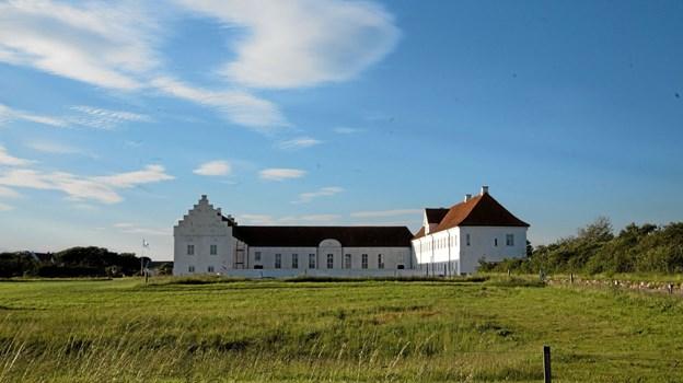 "Det flot Vitskøl Kloster dannede torsdag rammen om og foredraget ""Fra amatørbager til reality tv"" med Sara, som deltog i programmet. Foto: Mogens Lynge Mogens Lynge"