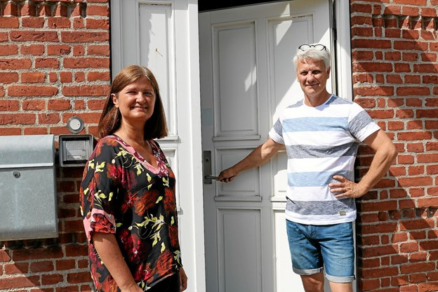 Birgithe og Torben Jacobsen vil tilbageføre Rolykke til dets oprindelige funktion. Foto: Tommy Thomsen