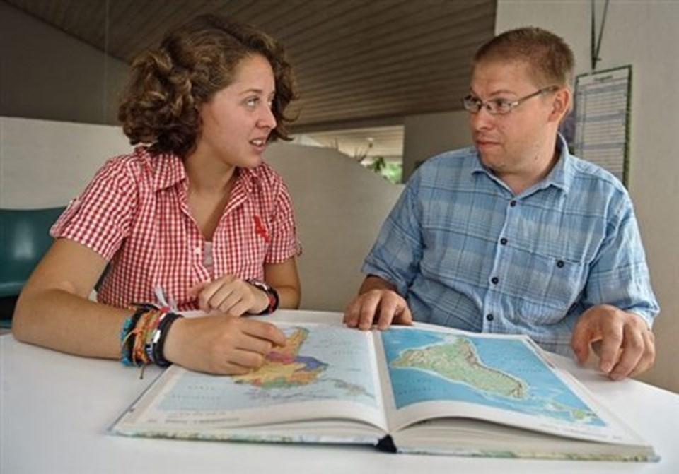 Tenna Petersen og Martin Damgård