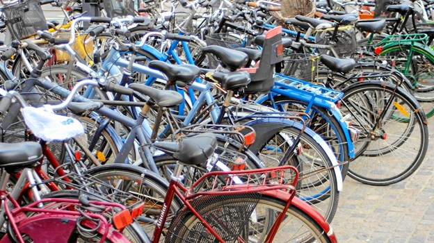 Alle kan være med - uanset stand på cykel. Arkivfoto