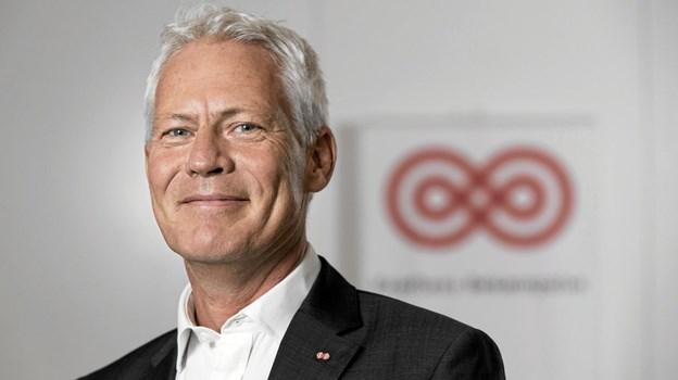Jesper Fisker, administrerende direktør i Kræftens Bekæmpelse, glæder sig til at komme til Stafet for Livet på Knivholt den 24. august. Foto: Hans Christensen