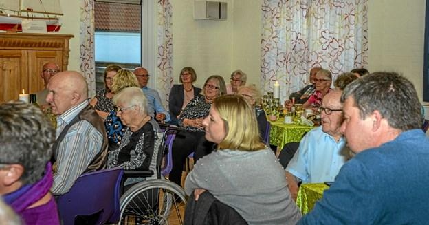 En meget vellykket aften på Røde Kors Hjemmet i Løgstør, som kan huskes længe. Foto: Mogens Lynge Mogens Lynge