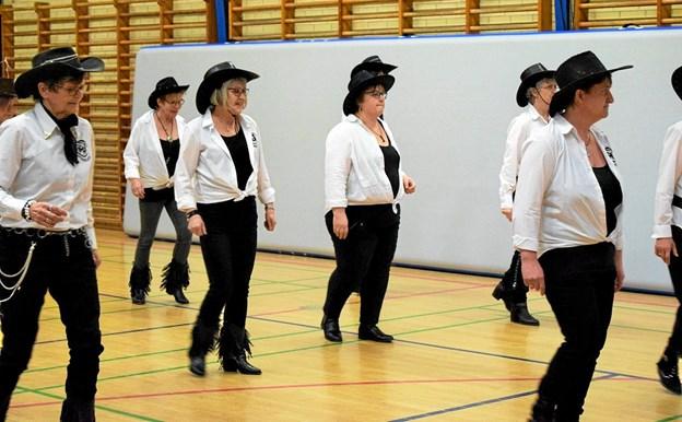 Linedance holdet i Hundelev. Privatfoto Privatfoto