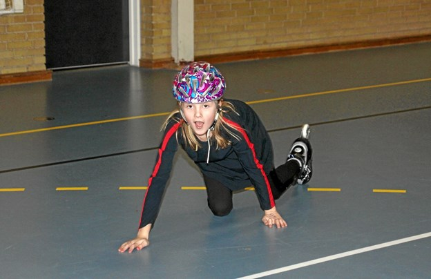 Det er bestemt ikke altid lige let at holde balancen. Foto: Hans B. Henriksen Hans B. Henriksen