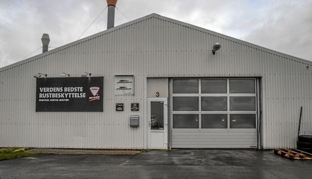 Dinitrol værkstedet på Aalborgvej i Løgstør havde pænt besøg i weekenden. Foto: Mogens Lynge Mogens Lynge