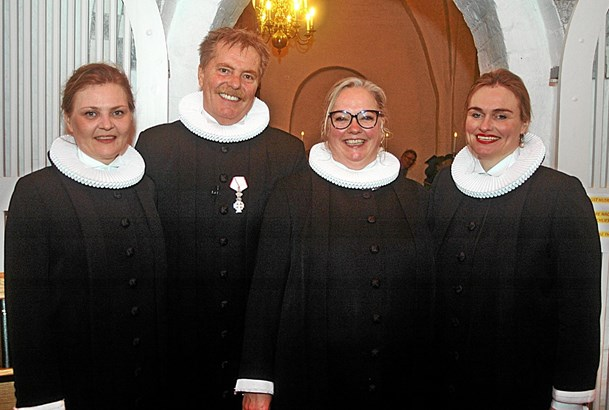 Festlig indsættelse af ny præst i Als kirke