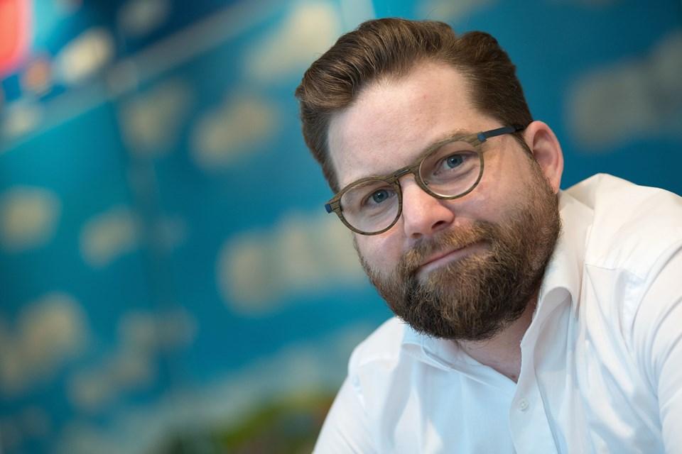 Direktør Nicolaj Holm fra Aalborg Kongres & Kultur Center glæder sig til besøg af amerikansk superband. Arkivfoto: Henrik Bo
