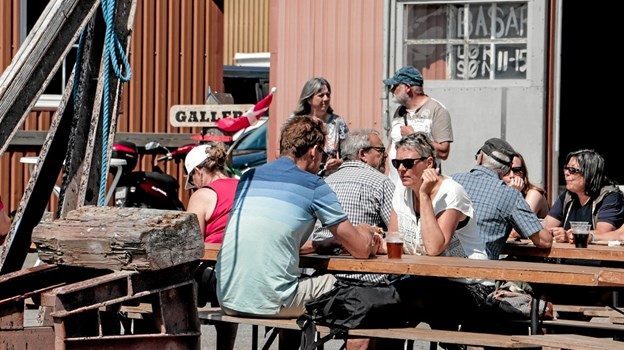 Havnefest i Ålbæk Foto: Peter Jørgensen Peter Jørgensen