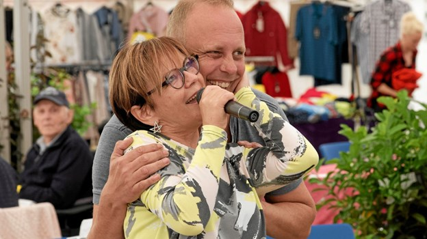 Publikum kan glæde sig til et populært gensyn med Lotte Riisholt og Bo Young. Foto: Niels Helver Niels Helver