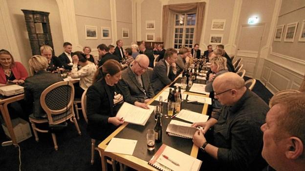 Sparekassens repræsentantskabsmøde blev afholdt i de smukke rammer på Dronninglund Slot. Foto: Jørgen Ingvardsen Jørgen Ingvardsen