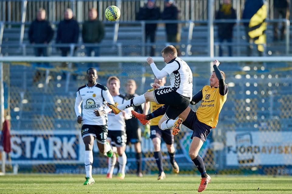 Superliga kamp mellem Hobro IK og AC Horsens på DS Arena i Hobro. Foto: Henrik Bo