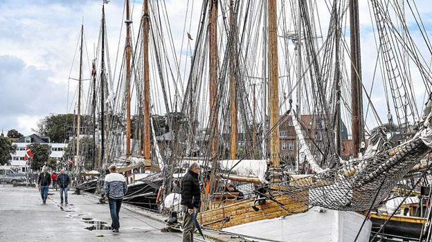 Thisted Havn fyldt op.Foto: Ole Iversen