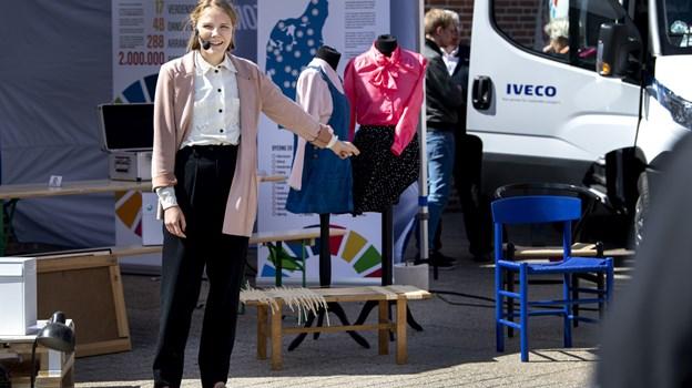 Tidligere i år var Danmark for målene i Aabybro, hvor tilhørerne blandt andet kunne få tips til, hvordan blandt andet brugte møbler kan friskes op. Arkivfoto: Laura Guldhammer
