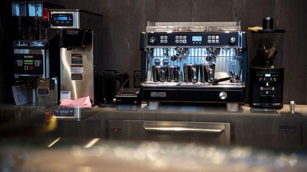 På åbningsdagen har Lagkagehuset blandt andet en konkurrence for kaffeelskere. Foto: Laura Guldhammer