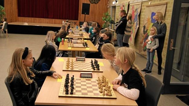 Søndag klokken 9.00 går næste turnering i gang. Foto: Flemming Dahl Jensen Flemming Dahl Jensen
