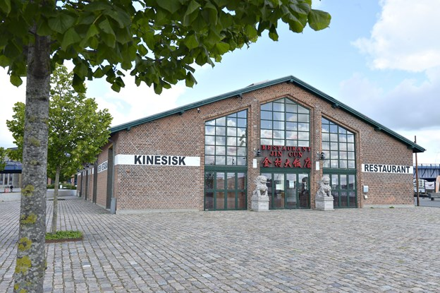 """Det er nu muligt at overtage lejekontrakten til den kinesiske restaurant """"Jin Cun"""", der er beliggende på den attraktive havnefront i Aalborg. Arkivfoto: Bente Poder"""