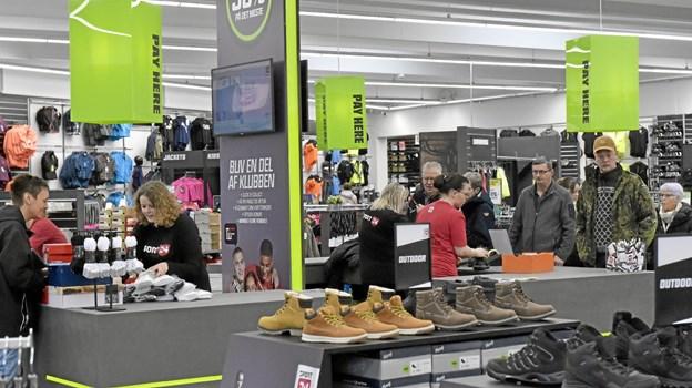 cc2edca39ab 1100 kvadratmeter sports-butik er stort for Thisted. Foto: Ole Iversen Ole  Iversen