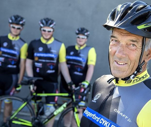 Bent Ringgaard, der jo også kendes som initiativtager til Mariagerfjord Cykler, er ligeledes ankermand for Mandagscyklisterne. Arkivfoto: Lars Pauli