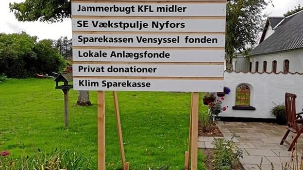 Øster Han Herred Egnssamling har fået økonomisk håndsrækning mange steder fra for at realisere den store nye tilbygning. ?Privatfoto