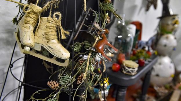Tilbage til de gode gamle dage - Retrojulepynt er årets hit på juletræet. Foto: Ole Iversen