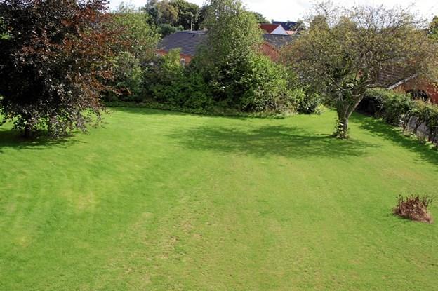 Nu har en lokal arbejdsgruppe skaffet penge nok til at anlægge en legeplads i Tinghaven. Privatfoto