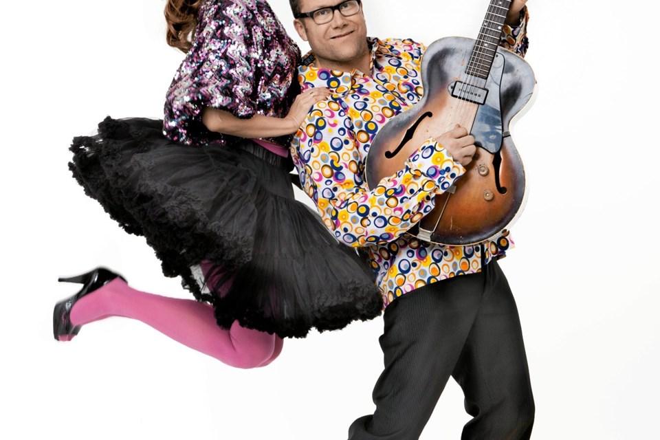 Kaya Brüel og Ole Kibsgaard kan 21. maj opleves sammen ved en koncert i Astrup Kirke.  PR-foto