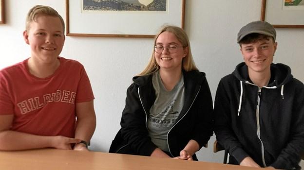 Styregruppen for det digitale projekt består af udvalgte lærere samt tre elever fra 2g: Jacob Jennet, Kathrine Nyholm og Mathilde Vadsager.