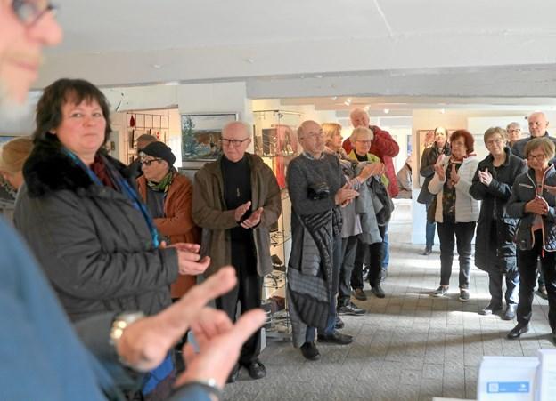 Lørdag den 13. april åbner årets første udstilling i Galleri Hou. Foto: Allan Mortensen