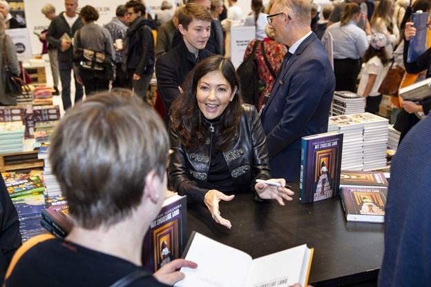 Grevinde Alexandra blev introduceret til vinterbadning i Skagen og har blandt andet nævnt det i sin nye bog. Hun deltager i årets festival, der starter 24. januar. Scanpix