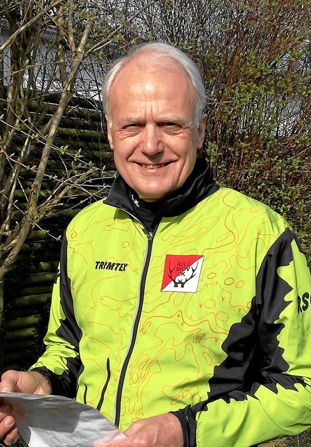 Walther Rahbek fra Rold Skov Orienteringsklub har taget initiativ til de lokale byorienteringsløb i Rebild Kommune. Han er også formand for Dansk Orienterings-Forbund, som arbejder på at synliggøre sporten over for endnu flere borgere. Privatfoto