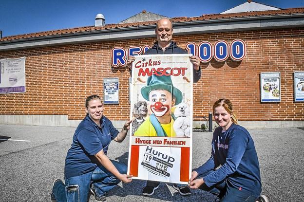 Tre vindere kan nu hver vinde fire billetter til Rema 1000´s Cirkus Mascot-forestilling. Foto: Ole Iversen