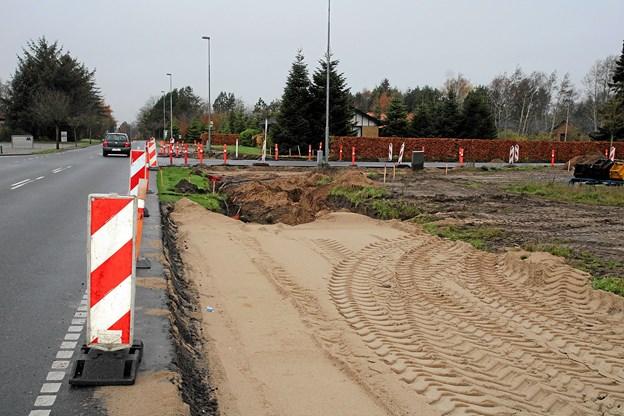 Jammerbugt Kommune er i fuld gang med at lave svingbanerne.
