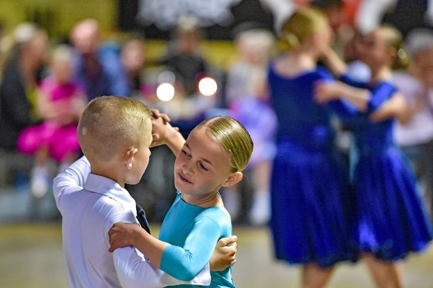 Koncentration og selvdisciplin er vigtig - i dans. Foto: Ole Iversen Ole Iversen
