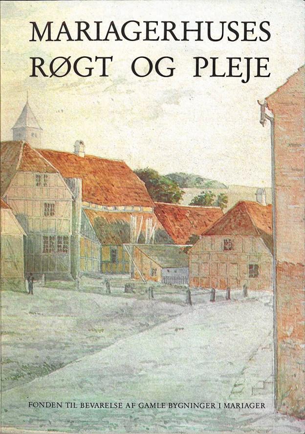 Mariagerhuses Røgt og Pleje gennemgår en lang række arkitektoniske kendetegn ved byens huse. Senest genoptrykt i 1995.
