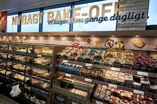 Butikken byder på et nyt koncept med blandt andet nybagt bake-off. Foto: Klaus Sletting